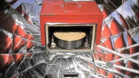 Piekarnik i kuchenka solarna paraboliczna (slajdy) - Koncept Gotowania Solarnego