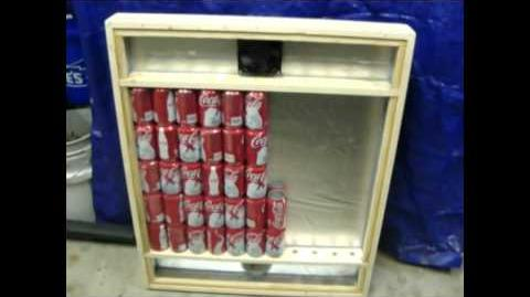 Solar Can Heater for deer blind. Very Easy to make !!!
