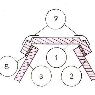 Rys 5. Montaż  paneli pionowych