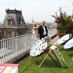 Kuchenki paraboliczne na pokazach w Paryżu