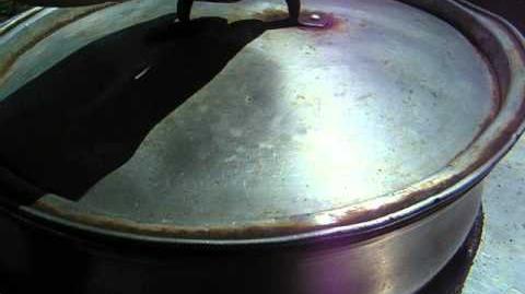 Scheffler solar cooking