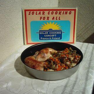 Gotowe danie: Udka z kurczaka z jarzynami