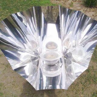 Kuchenka panelowa lejkowa wykonana z arkuszy polipropylenu