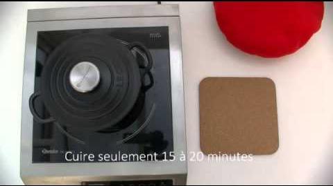 Cuisson du riz complet avec le bonnet norvégien