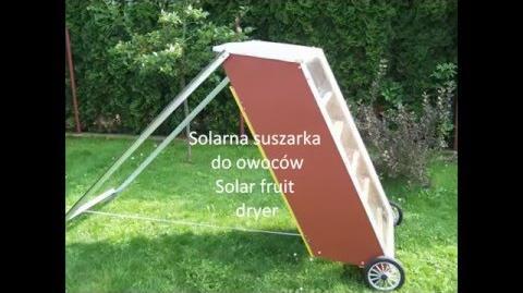 Suszarka solarna hd