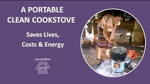 A Portable Clean Cookstove