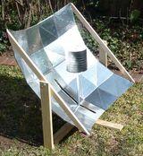 Kuchenka solarna paraboliczna Robinson (plany)