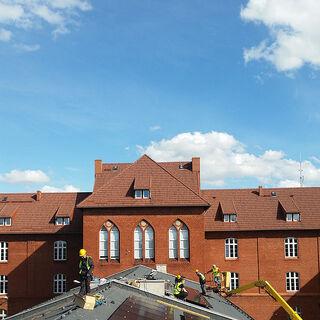 Instalacja fotovoltaiczna w szkole w Słupsku