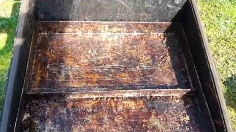 Topiarka słoneczna do wosku plastrów pszczelich