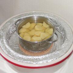 19) Dogotowane ziemniaki