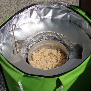 Dogotowany ryż