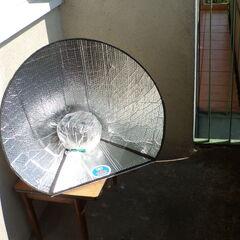 Fot. 10. Gotowanie solarne na balkonie