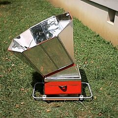 15. Grill solarny skrzynkowy