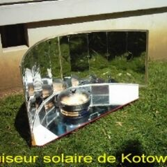 10. Kuchenka cylindryczno-paraboliczna z powierzchnią odblaskową pionową