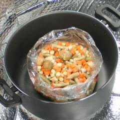 Jarzyny gotowane w woreczku