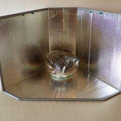 Fot. 5. Garnek w woreczku wstawiony do kuchenki
