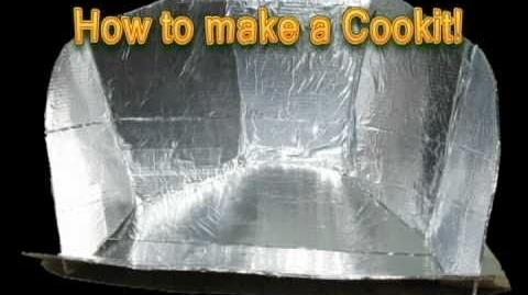 How to make a solar Cookit