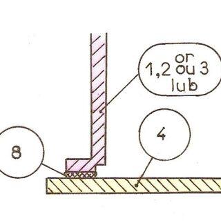 Rys 6. Montaż zespołu paneli pionowych na panelu poziomym