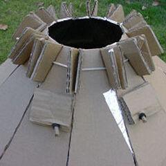 Rys. 6. Instalowanie wsporników pod garnek, widok z boku