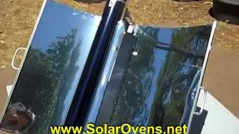 Solar Barbeque in a Suitcase! BBQ ~ Grill ~ Solar Tube Cooking!