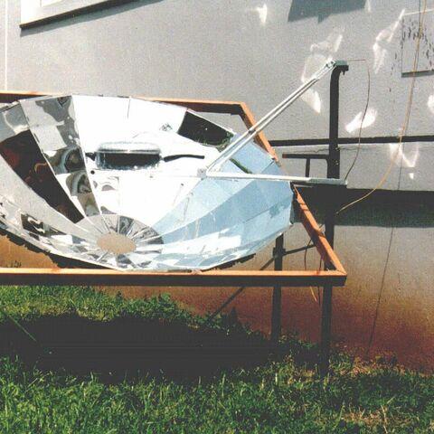 Widok ogólny kuchenki parabolicznej