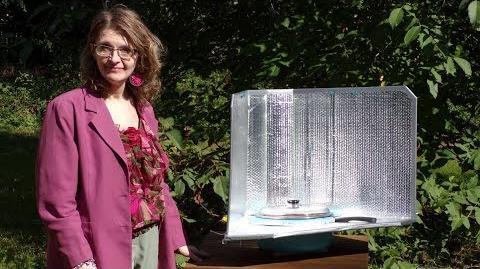 Kuchenka solarna EuroSolarCooker Margot (samokonstrukcja)