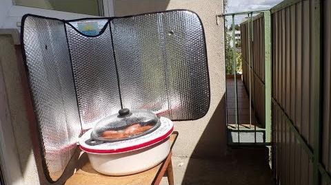 Kuchenka solarna EuroSolarCooker Andre (samokonstrukcja)