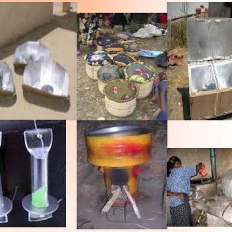 Metoda globalna gotowania solarnego: kuchenki solarne, dogotowywacze, kuchenki rakietowe, pasteryzacja