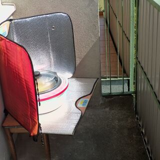 7) Gotowanie wstępne w kuchence solarnej