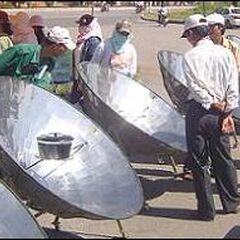 Kuchenka paraboliczna dystrybuowana przez Solar Serve