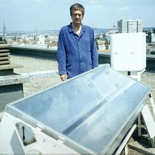 Testy na dachu Wydziału Nauk Uniwerytetu w Nancy