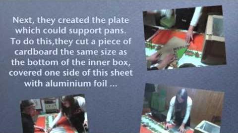 Solar cooker greece