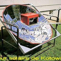 14. Piekarnik solarny paraboliczny