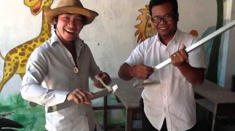 SOLAR COOKER SK 14 - THMOR SOR, CAMBODIA 2015