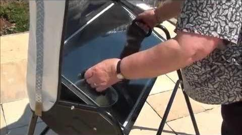 """Solar Oven"" Green Solutions N.I Cooking with the Sun solar green ""sun cooker"""