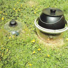 GreenhousePot ze zdjętą pokrywą