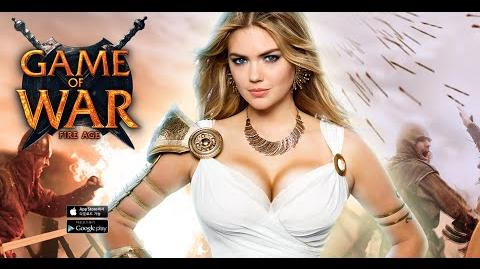 Video Kate Upton Game Of War Live Action Trailer