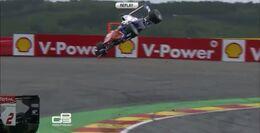 Tereshchenko crash Spa 2014