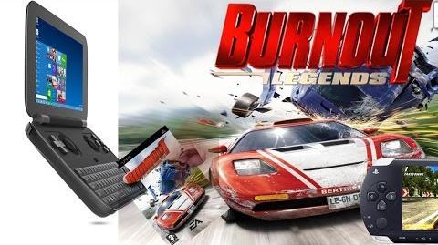 GPD Win - Burnout Legends PPSSPP 1.3.0 DirectX9