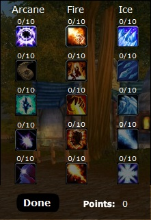 Mage Talents