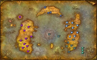 GrindQuest Expansion Map