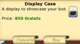 Display case price