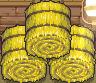 Hay barrel down