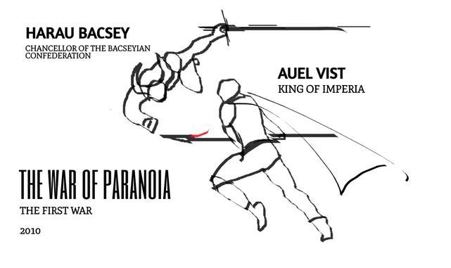 War of Paranoia Illustration