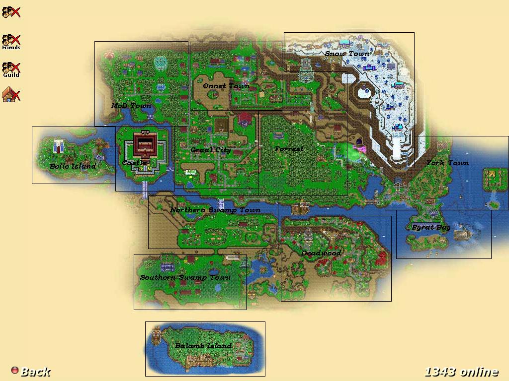 Map | Graal Online Wiki | FANDOM powered by Wikia