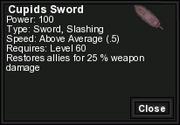 Cupids Sword