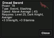 Dread Sword