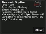 Dracscythe