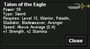 Talon of the Eagle