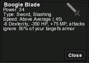 Boogie Blade